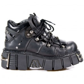 M.106-R14 New Rock Stiefeletten Metallic