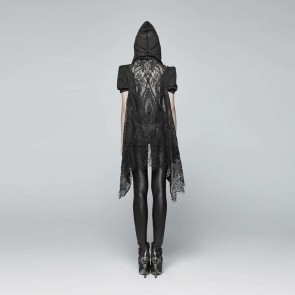 Amuria Gothic hooded Shawl - Punk Rave