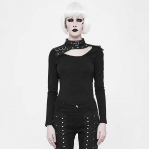 Antagonism Asymetric Longsleeve Shirt - Punk Rave