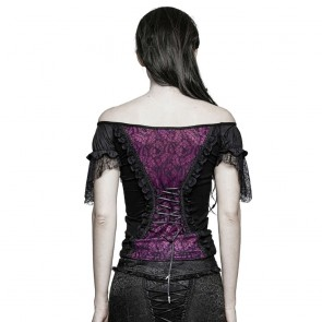 Belladonna Purple Top - Punk Rave