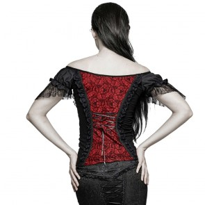 Belladonna Red Top - Punk Rave