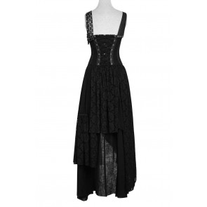 Black Gipsy Dress - Punk Rave