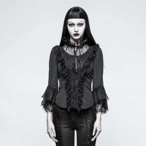 Black spirit Gothic Shirt - Punk Rave