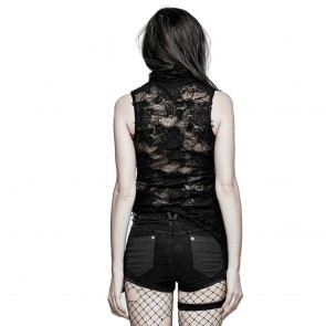 Decadence Sleeveless Gothic Top - Punk Rave