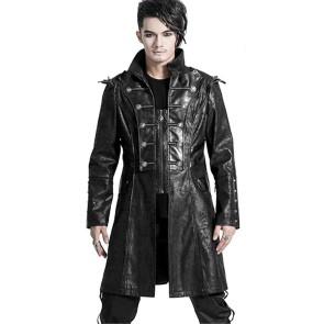 gothic damen mantel von punk rave mit spikes
