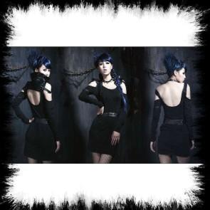 Punk Rave Gothic Vamp Kleid