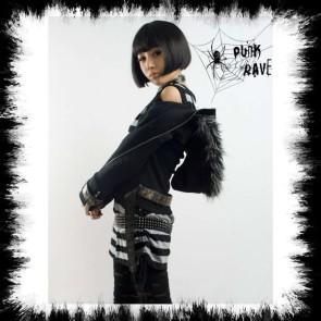 Punk Rave Jacke Mit Kapuze