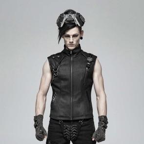 Kamikaze Gothic Waistcoat - Punk Rave