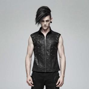 Misanthrope Gothic Waistcoat - Punk Rave