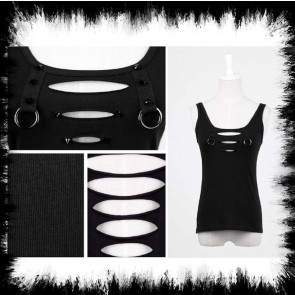 Punkrave Top Spikes & Rings
