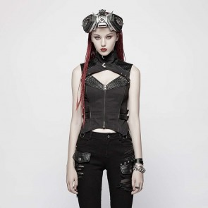 Vulturia Gothic Women Vest