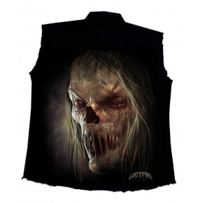 Workershirt Zombie Face