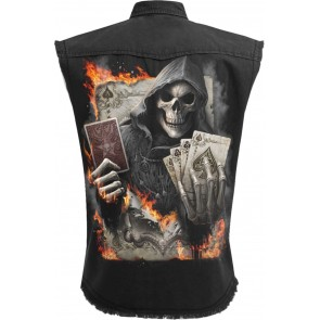 ACE REAPER - WORKERSHIRT SCHWARZ