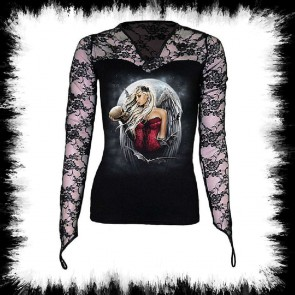 Angel Of Death Sorrow Gothic Girly Oberteil Todes Engel