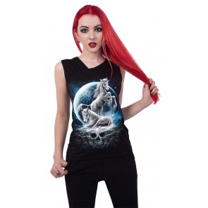 Baby Unicorn – Gothic Damen Shirt
