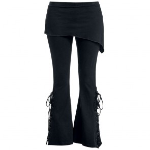 damen leggings two in one mit rock