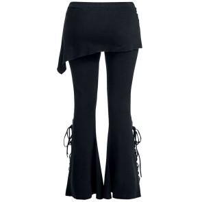 damen leggings two in one mit rock
