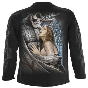 Devil Beauty - Longsleeve T-Shirt Black