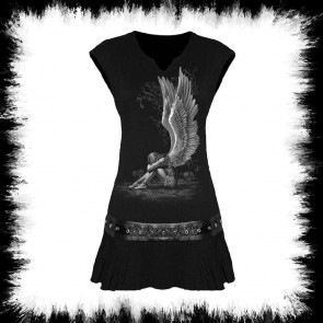 Enslaved Angel Gothic Nieten Kleid