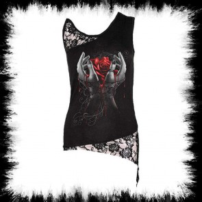 Gothic Lady Tank Top Hands Of Sorrow