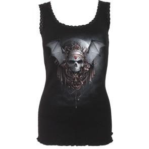 Gothic Night Lady Sleeveless Shirt