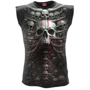 gothic sleeveless death rips