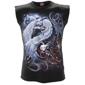 gothic sleeveless yin yang