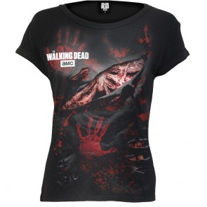 lady shirt walking dead
