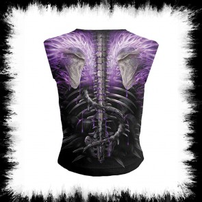 Metal Girly Shirt Flaming Spine