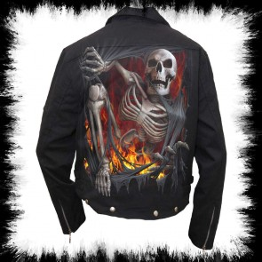 Rock Bike Jacke Re Ripped