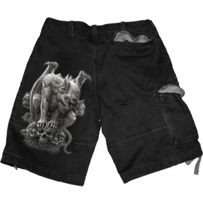 Rock Eternal ¾ Shorts Black