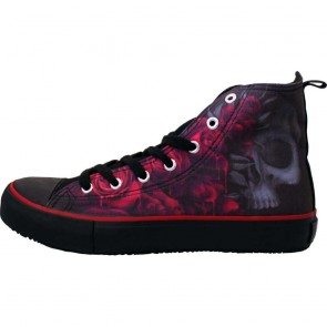 Sneakers Turnschuhe Gothic Blood Roses