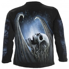 Winged Skeleton Metal Longsleeve