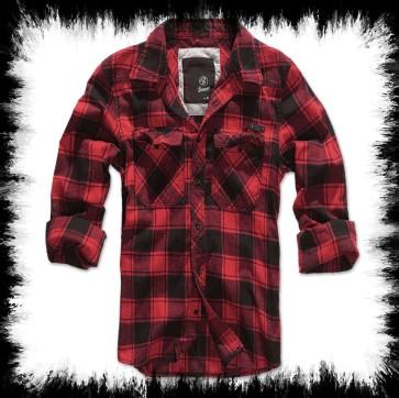 Brandit Lumberjack Shirt Red
