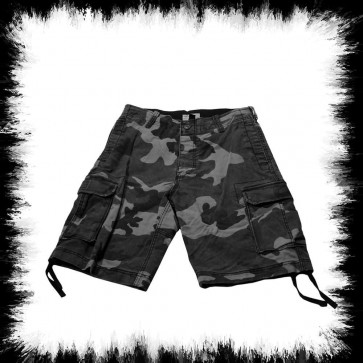 Shorts In Grey Camoflage Military Look
