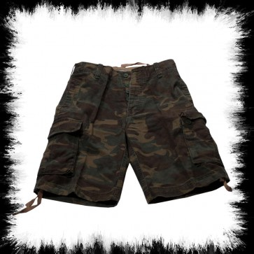Vintage Shorts Woodland Camo