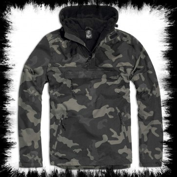 Brandit Windbreaker Jacket Dark Camoflage