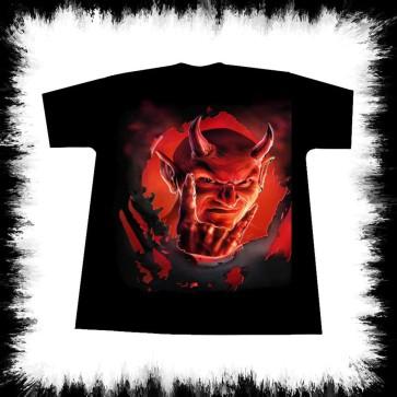 Heavy Metal T Shirt Devil By Lucyfire
