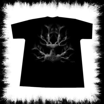 Thor Hammer T Shirt By Lucyfire