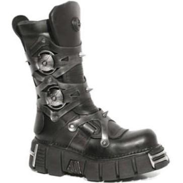M.739-R1 New Rock Boots Metallic