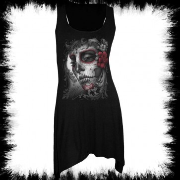 Gothic Tattoo Muerta Dress