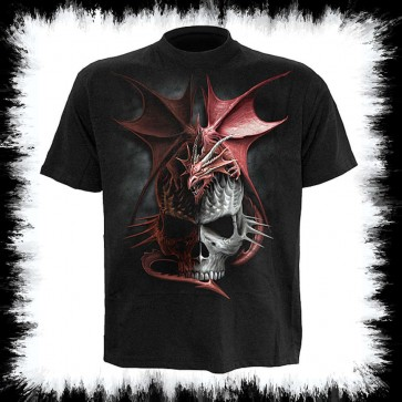 Metal Gothic T Shirt Serpent Infection
