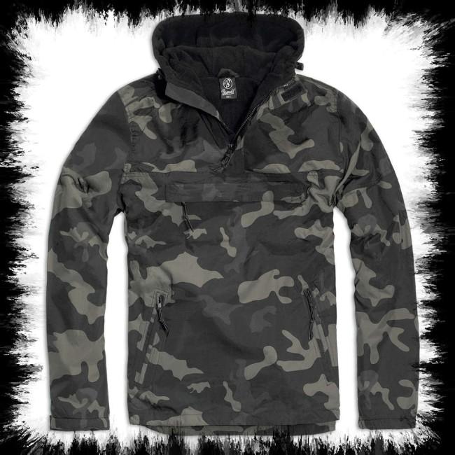 48a9be9860af5 Brandit Windbreaker Jacket Dark Camoflage - Men Jackets & Coats ...
