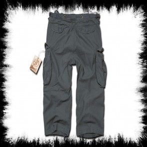 Brandit Three Quarter Shorts Anthracite Industry