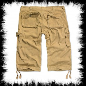 Brandit Three Quarter Shorts Urban Legend Beige
