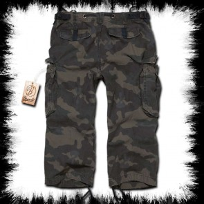 Brandit Three Quarter Shorts Urban Legend Woodland Camoflage