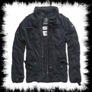 Brandit Men Jacket Black Britannia