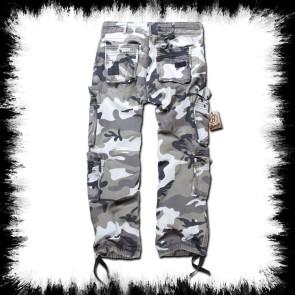 Brandit Pure Vintage White Camoflage Pants Ubran