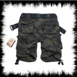 Brandit Shorts Savage Dark Camo