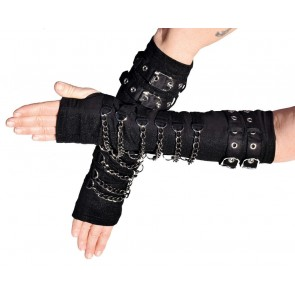 Gothic Gauntlets with Dark Chains
